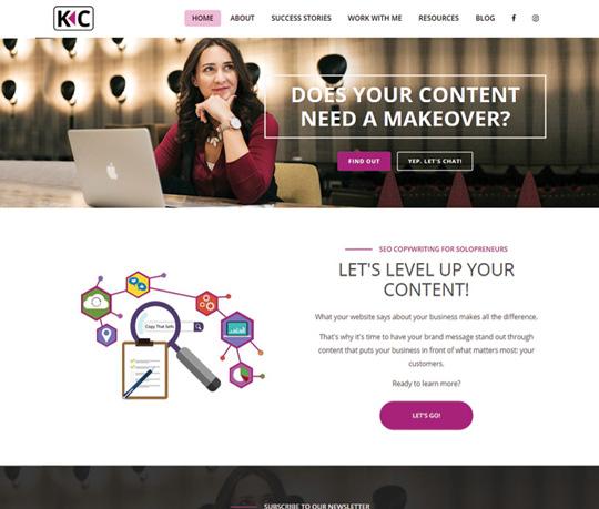 keysandcopy-website-portfolio