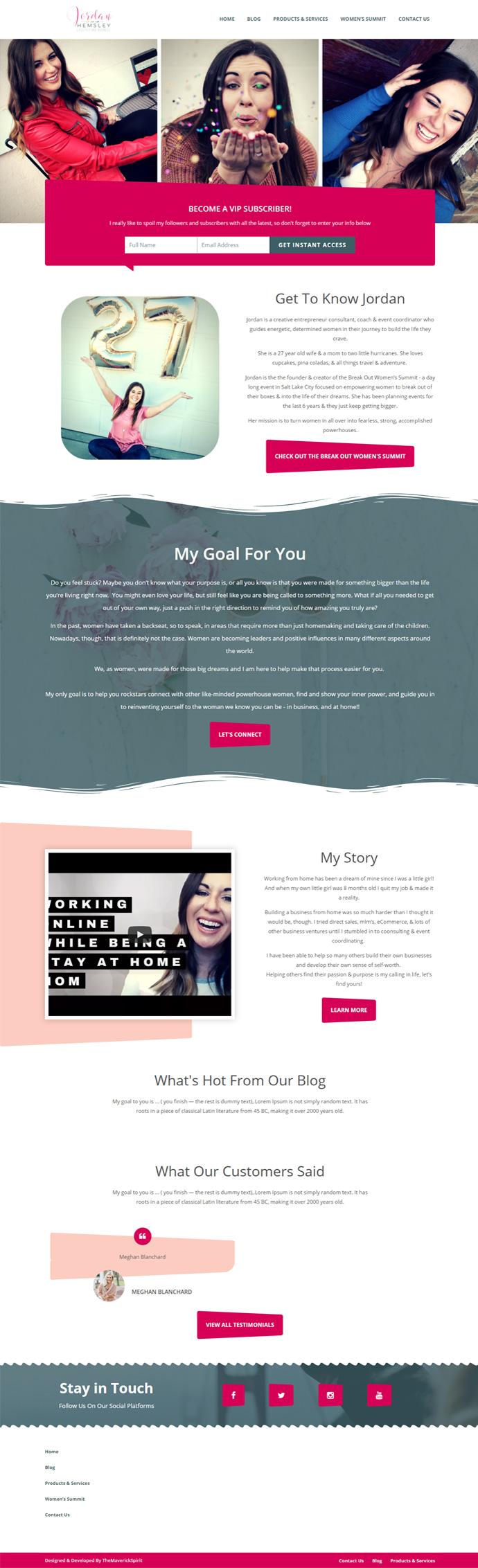 jordanhemsley-personal-portfolio-thememantis